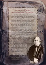 Press of Padre Antonio Jose Martinez