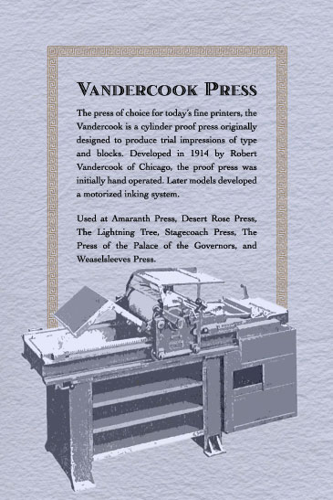 Vandercook Press